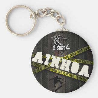 AINHOA - Skater Style Standard Runder Schlüsselanhänger