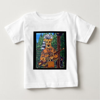 AIREDALE-JÄGER BABY T-SHIRT