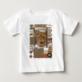 Airedale-Terrier-Koch Baby T-shirt