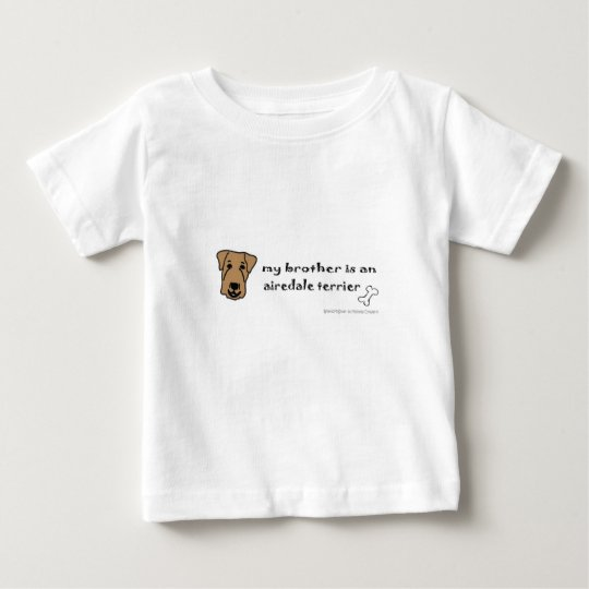 Airedaleterrier Baby T-shirt