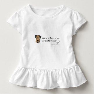 Airedaleterrier Kleinkind T-shirt