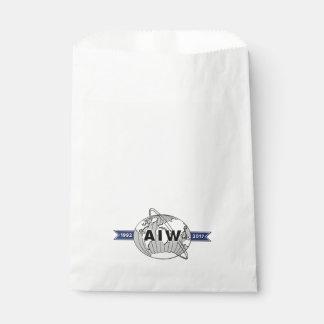 AIW 25. Jahrestags-Logo Geschenktütchen