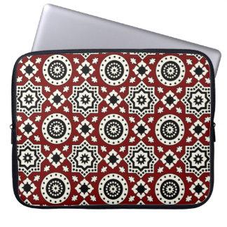 Ajrak Muster-Laptop-Hülse Laptopschutzhülle