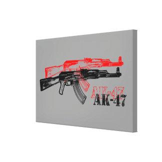 AK 47 LEINWAND DRUCKE