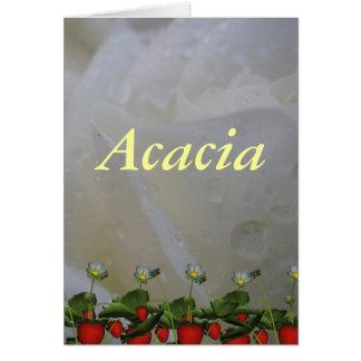 Akazie Karte