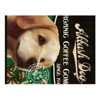 Akbash Hundemarke - Organic Coffee Company Postkarten