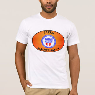 Akron Ohio parkt Wartungs-Hemd T-Shirt