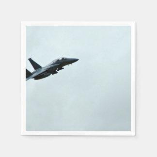 Aktion Themed, ein Kämpfer-Flugzeug Turing im Papierserviette