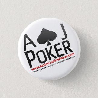Aktions-Junkie-Poker-Buttone Runder Button 2,5 Cm