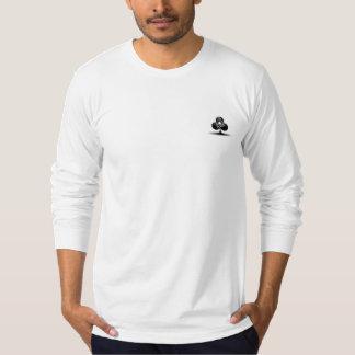 Aktions-Junkie-Poker-langes Hülsen-Shirt T-Shirt