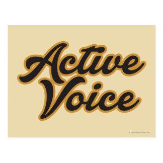 Aktiv Postkarte
