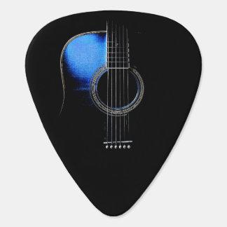 Akustikgitarre-Entwurfplectrum-Version 2 Plektrum
