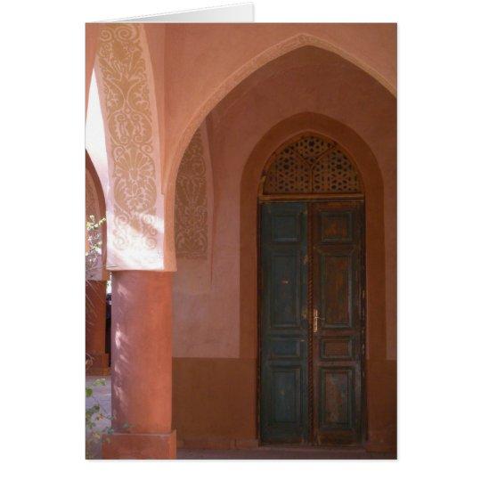 Al Moudira Tür-Karte Mitteilungskarte
