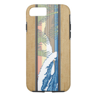Ala Moana hawaiisches Imitat Koa hölzernes iPhone 7 Hülle
