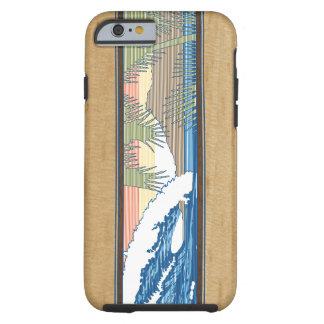 Ala Moana hawaiisches Imitat Koa hölzernes Tough iPhone 6 Hülle