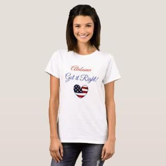 Alabama erhielt ihm Recht, Wahl Moores Jones T-Shirt
