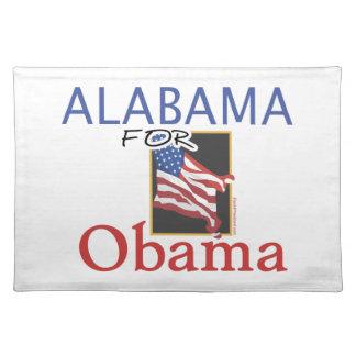 Alabama für Obama-Wahl Tisch Sets