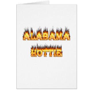 Alabama Hottie Karte
