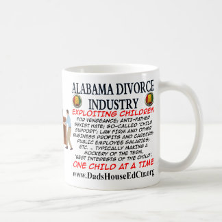 Alabama-Scheidungs-Industrie Kaffeetasse