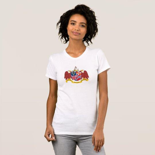 Alabama-Staatswappen Siegelamerika-Republik s T-Shirt