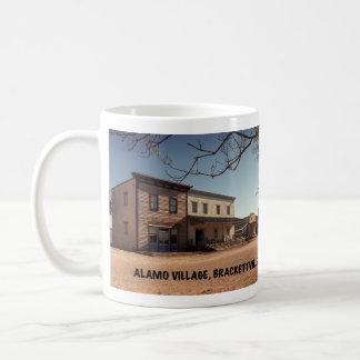 Alamo-Dorf-Film-Standort Kaffeetasse