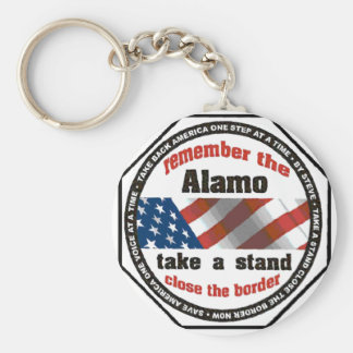 Alamo-Kopie Standard Runder Schlüsselanhänger