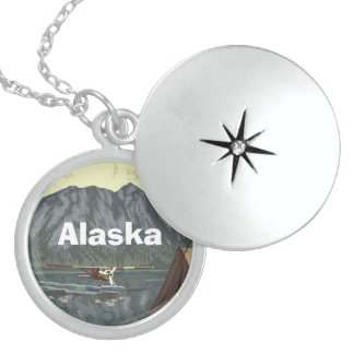 Alaska-Berg Sterling Silberkette