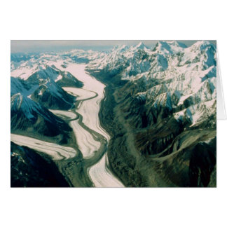 Alaska-Gebirgsc$strecke-luftansicht Karte