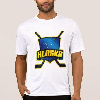 Alaska-Hockey-Flaggen-Logo T-Shirt