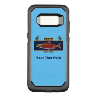 Alaska-Kampf-Fischer-Abzeichen OtterBox Commuter Samsung Galaxy S8 Hülle