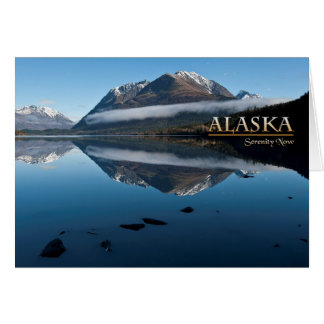 Alaska-Ruhe jetzt Karte
