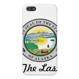 Alaska-Staats-Siegel und Motto iPhone 5 Hülle