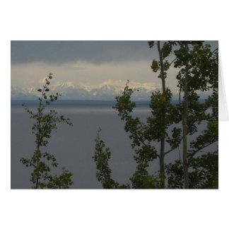Alaska-Streckenberge Karte