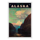 Alaska - Vintage Reise-Plakate Poster