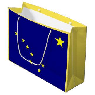 Alaskische Flaggen-Geschenk-Tasche Große Geschenktüte