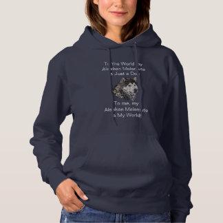 Alaskischer Malamute Hoodie