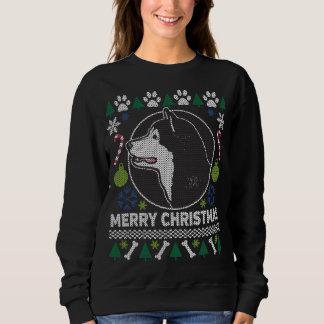 Alaskischer Malamute-Hundezucht-hässliche Sweatshirt