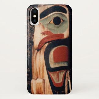 Alaskisches Totem-Pole-Foto entwarf iPhone X iPhone X Hülle