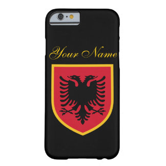 Albanien-Flagge Barely There iPhone 6 Hülle
