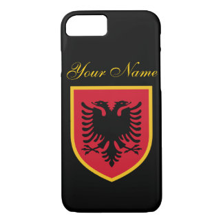 Albanien-Flagge iPhone 7 Hülle