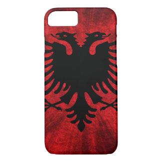 Albanien-Flagge iPhone 7 Hülle