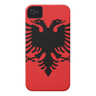 Albanische Flagge iPhone 4 Case-Mate Hülle