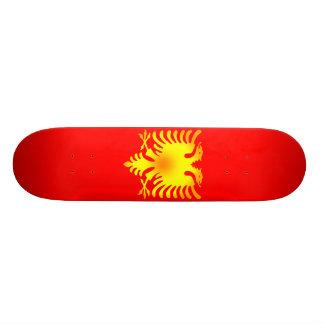 Albanische goldenes Eagle-Flagge Personalisierte Skateboards