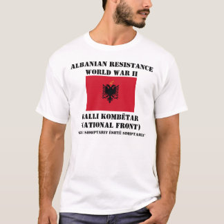Albanischer Widerstand T-Shirt