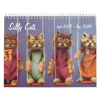 Alberne Katzen und Kätzchen - Sept. 2017 - August Kalender