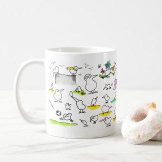 Alberne Kiwi-Vogel-Tasse durch Nicole Janes Kaffeetasse