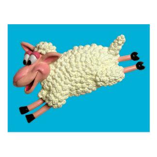 Alberne Schafe Postkarte