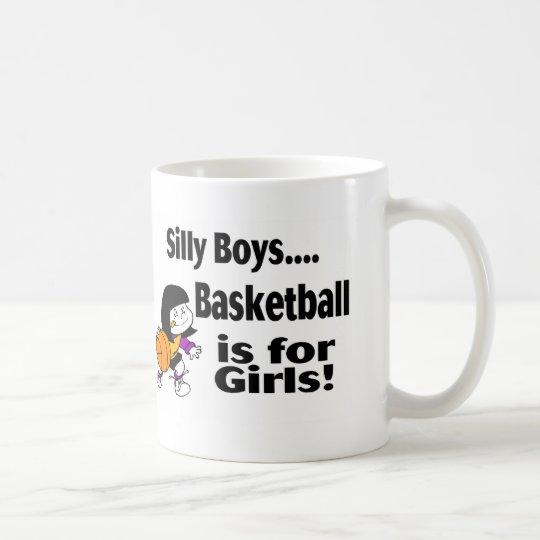 Alberner Jungen-Basketball ist für Mädchen Tasse