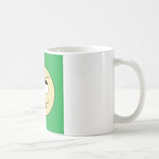 Albernes Gesicht Kaffeetasse