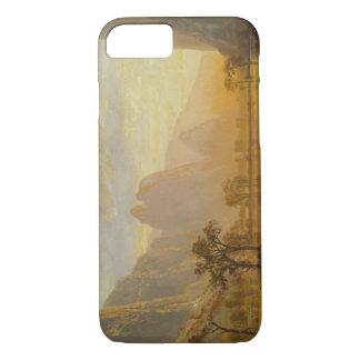 Albert Bierstadt - Tal des Yosemite iPhone 8/7 Hülle
